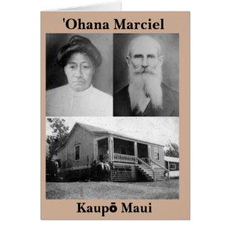 ʻOhana Marciel Greeting Card