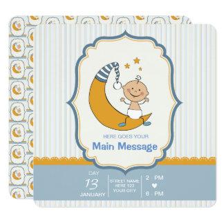 ΒΟΥ BABY SHOWER INVITATION - FULL CUSTOMIZATION