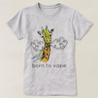 Ω VAPE Shirt   Born to Vape  Giraffe    VapeGoat™