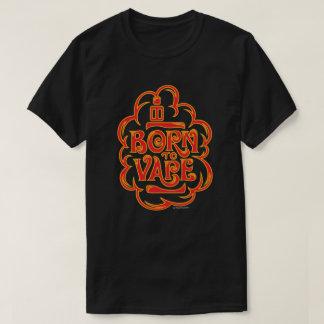 Ω VAPE Shirt | Born to Vape Red DARK VapeGoat™