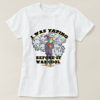 Ω VAPE Shirt   Vaping before it was Cool VapeGoat™