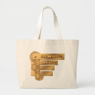 Бронза Large Tote Bag