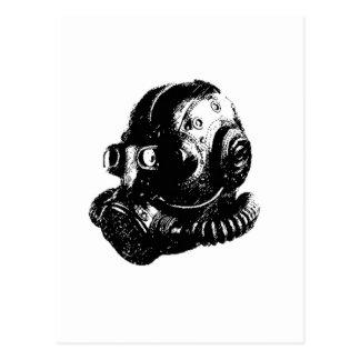 Мask pilot 2 postcard
