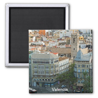Рanorama of the center of Valencia Magnet