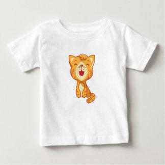 Сute red cat, kitty baby T-Shirt