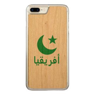 أفريقيا Africa in Arabic Carved iPhone 7 Plus Case