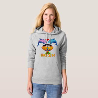 ♥ټ☘I Love Irish-Awesome St Patrick's Day Classic Hoodie