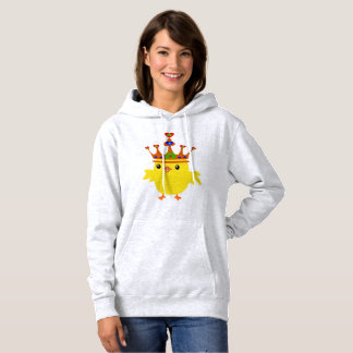 ♥ټ☘Irish Crowned Chicken Fabulous Basic Toasty Hoodie