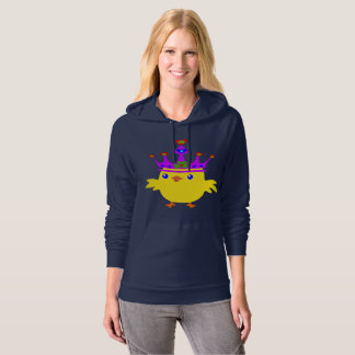 ♥ټ☘Irish Crowned Chicken Fabulous Classic Fleece Hoodie