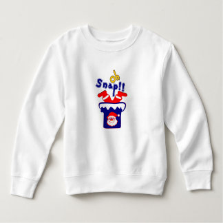 🎅ټOh! Sanp, Santa Stuck in a Chimney Toddler Sweatshirt