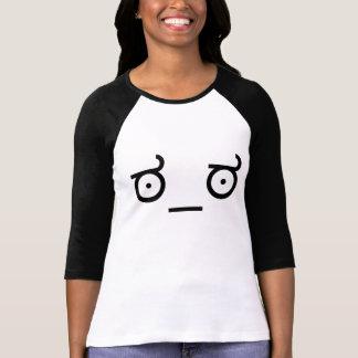 ಠ_ಠ Look of Disapproval ASCCI Emoticon Text Art T-Shirt