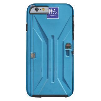 おもしろいな公共の携帯用洗面所 TOUGH iPhone 6 CASE