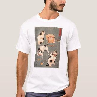 たとえ尽の内(上), 国芳 Japanese Cats(1), Kuniyoshi, Ukiyo-e T-Shirt