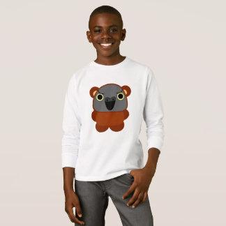 オウム パロット Senegal Parrot in bear Halloween costume T-Shirt