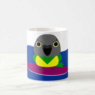 オウム パロット Senegal parrot Surfing Coffee Mug