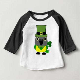 オウムIrish/ St Patrick's Day Senegal Parrot Baby T-Shirt