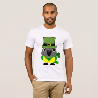 オウムIrish/ St Patrick's Day Senegal Parrot T-Shirt
