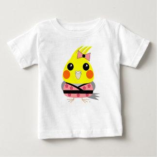 オカメインコ オウム Cockatiel in Kimono Baby T-Shirt