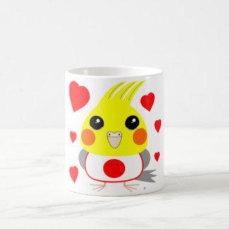 オカメインコ オウムCockatiel with love for Japan Coffee Mug