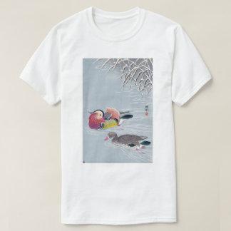 オシドリ, 小原古邨 Mandarin duck, Ohara Koson, Ukiyo-e T-Shirt