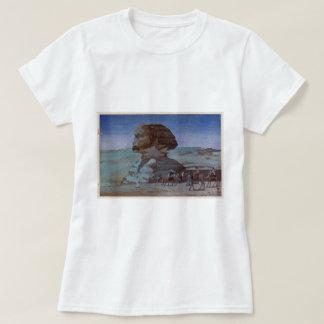 スフィンクス(夜), Sphinx(Night), Hiroshi Yoshida, Woodcut T-Shirt