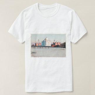 タージ・マハル, Taj Mahal, Agra, Hiroshi Yoshida, Woodcut T-Shirt