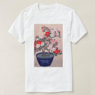 ツツジの盆栽, 小原古邨 Bonsai Azalea, Ohara Koson, Ukiyo-e T-Shirt
