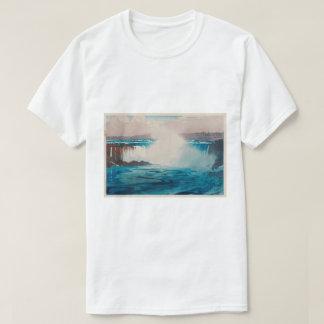 ナイアガラ瀑布, Niagara Falls, Hiroshi Yoshida, Woodcut T-Shirt