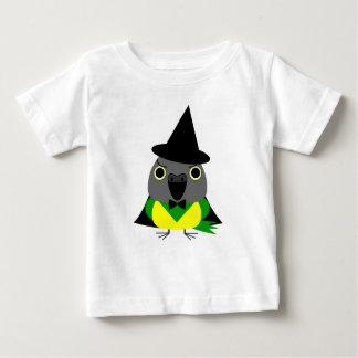 ネズミガシラハネナガインコ オウム Senegal parrot for Halloween Baby T-Shirt