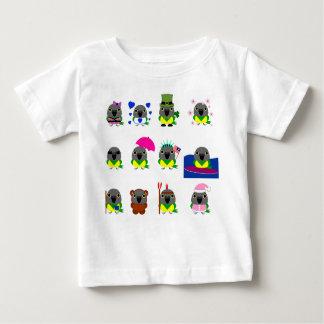 ネズミガシラハネナガインコ オウム Senegal Parrot holiday designs Baby T-Shirt