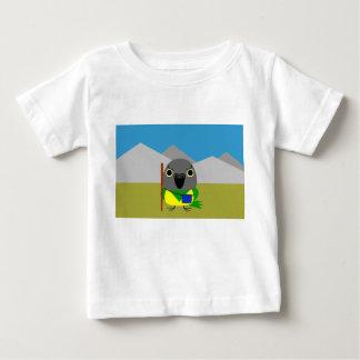 ネズミガシラハネナガインコ  オウム Senegal parrot ready to hike Baby T-Shirt