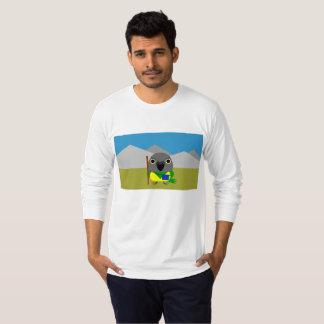 ネズミガシラハネナガインコ オウムSenegal parrot ready to hike T-Shirt