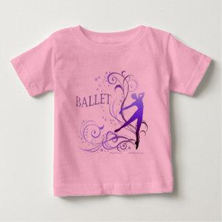 バレエ スクロール BABY T-Shirt