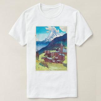 マッターホルン, Matterhorn, Hiroshi Yoshida, Woodcut T-Shirt