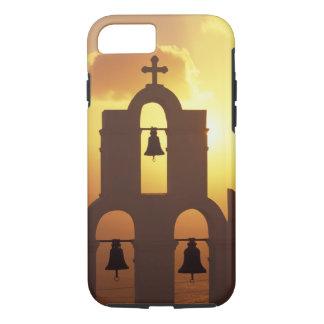 ヨーロッパ、ギリシャのキクラデス諸島の島、Santorini、 iPhone 7 Case