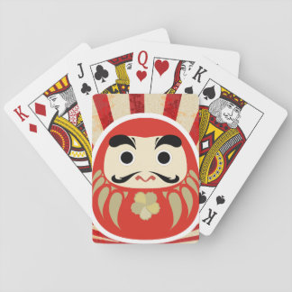 七転び八起き DARUMA Playing Card