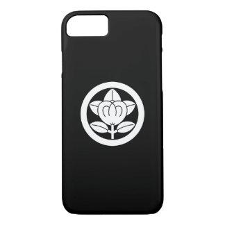 丸に橘(六つ割り作図) iPhone 7 CASE