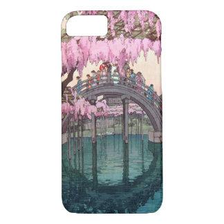 亀戸天神, Kameido Bridge, Hiroshi Yoshida, Woodcut Case-Mate iPhone Case
