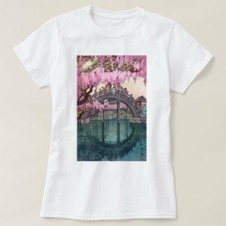 亀戸天神, Kameido Bridge, Hiroshi Yoshida, Woodcut T-Shirt