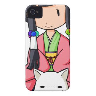 伏 Princess English story Nanso Chiba Yuru-chara Case-Mate iPhone 4 Cases