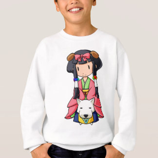 伏 Princess English story Nanso Chiba Yuru-chara Sweatshirt