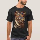 侍と化け蛙, 国芳 Samurai and Giant Frog, Kuniyoshi, Ukiyo T-Shirt