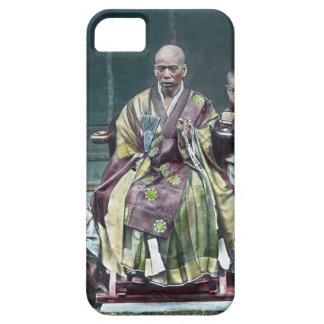 僧 japonais vintage du Japon de moines bouddhistes Coques iPhone 5 Case-Mate