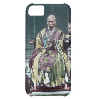 僧 japonais vintage du Japon de moines bouddhistes Étuis iPhone 5C