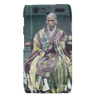 僧 japonais vintage du Japon de moines bouddhistes Droid RAZR Case