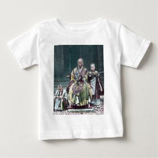 僧 japonais vintage du Japon de moines bouddhistes T-shirt Pour Bébé