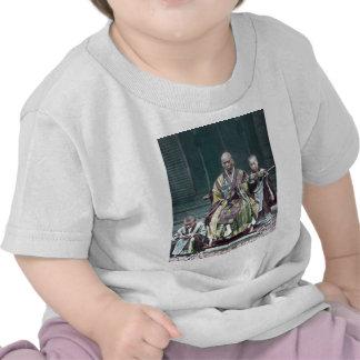 僧 japonais vintage du Japon de moines bouddhistes T-shirt