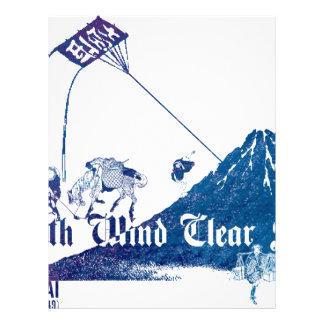凱 wind fine weather letterhead