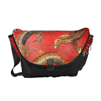 北斎の龍, 北斎 Hokusai Dragon, Hokusai, Japan Art Commuter Bag