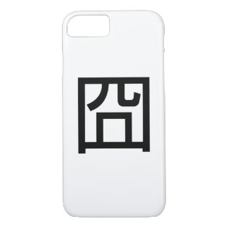 囧 Jiong Chinese Orz Asian Meme Hanzi Emoticon iPhone 7 Case